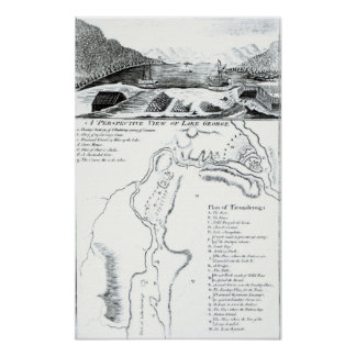 A Perspective View of Lake George Poster