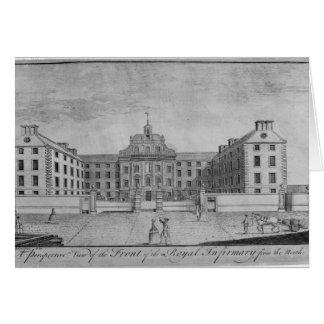 A Perspective View of the Front of the Royal Card