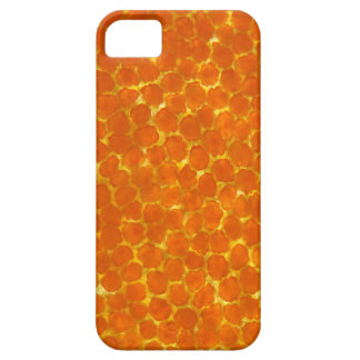 A petal of a tagetes flower under the microscope iPhone 5 covers
