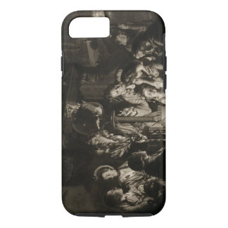 A Philosopher Shewing an Experiment on the Air Pum iPhone 7 Case