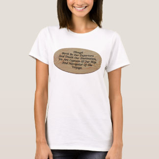 A Philosophical, Self-Affirming T-Shirt