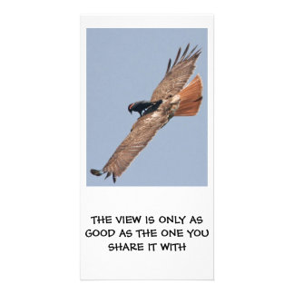 A Philosophical View Customised Photo Card