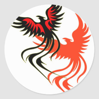 A Phoenix's Shadow Sticker
