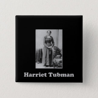 A Picture of Harriet Tubman 15 Cm Square Badge