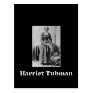 A Picture of Harriet Tubman in Black and White Postcard