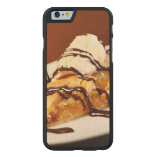 A picture of home-made apple pie carved® maple iPhone 6 slim case