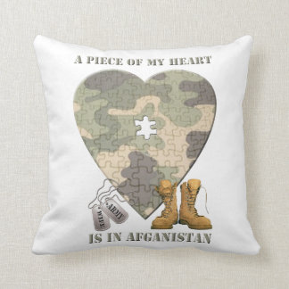 A Piece of My Heart Army Wife Pillow