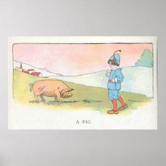 A Pig Poster