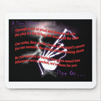 A Piper's Creed (Lightning) Mouse Pad