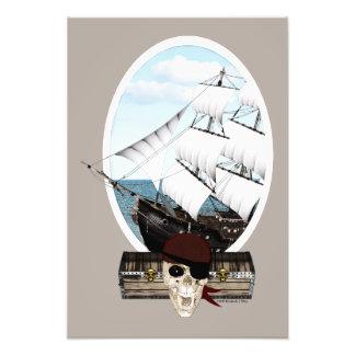A Pirate Ship Photo Print
