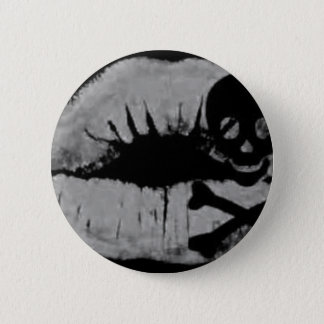 A Pirate's Kiss 6 Cm Round Badge
