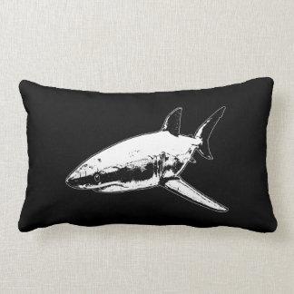 A Pirates Life doublesidedsharkpillow_1 Lumbar Cushion