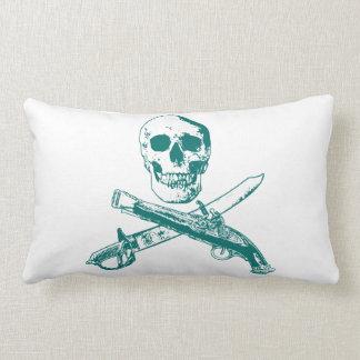 A Pirates Life doublesidedskullpillow_3 Lumbar Cushion