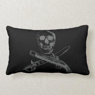 A Pirates Life doublesidedskullpillow_5 Lumbar Pillow
