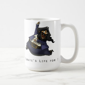 A Pirate's Life For Me Basic White Mug