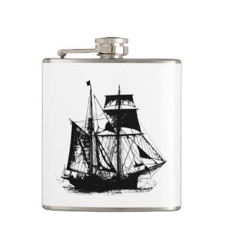 A Pirates Life ship_1 Flask