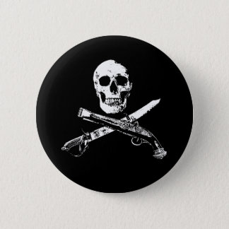 A Pirates Life SkullButton_1 6 Cm Round Badge