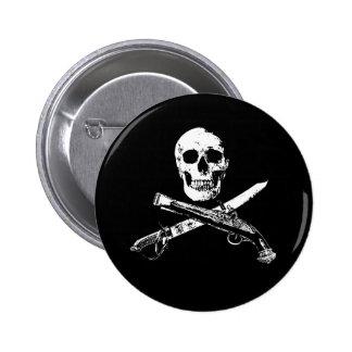 A Pirates Life SkullButton_1 6 Cm Round Badge