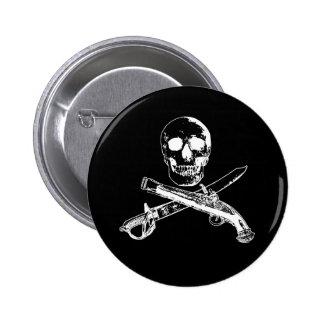 A Pirates Life SkullButton_2 6 Cm Round Badge