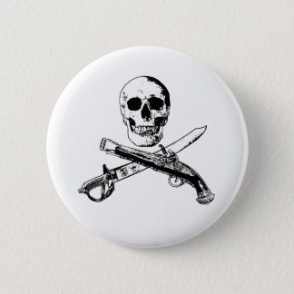 A Pirates Life SkullButton_3 6 Cm Round Badge