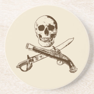 A Pirates Life skullcoaster_1 Beverage Coasters