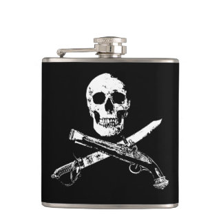 A Pirates Life skullflask_2 Hip Flask