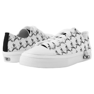 A Pirates Life skullshoes_3 Low Tops