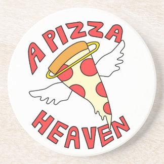 A Pizza Heaven Coaster