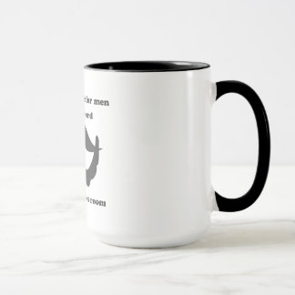 A place for men without beard Mug