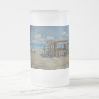 A Place I'd Rather Be Frosted Glass Beer Mug