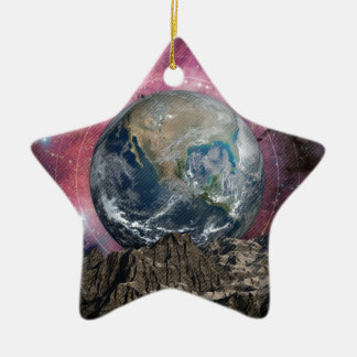 A Place In Space Ceramic Ornament