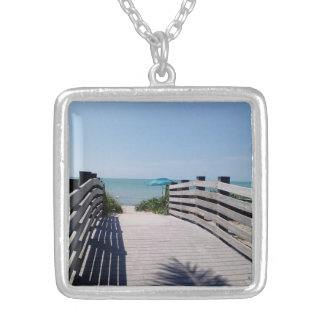 A Place of Rest Silver Plated Necklace