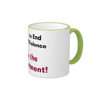 A Plan to End Violence Coffee Mugs