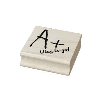 A Plus Comment Teachers Custom Rubber Stamp