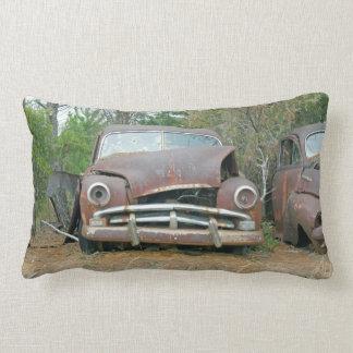 A Plymouth Rusted Remains Lumbar Cushion