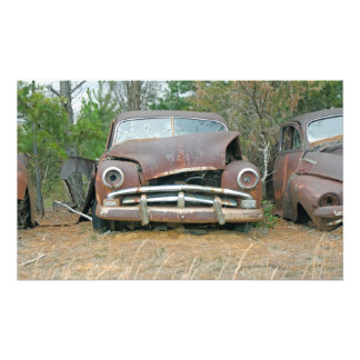 A Plymouth Rusted Remains Photo Print