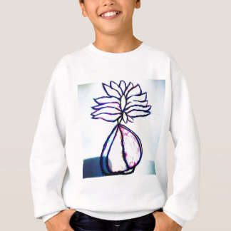 A Polyphonic Lotus Heart by Luminosity Sweatshirt