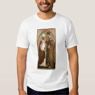 A Pope  and St. Matthias, c.1428-29 Shirts