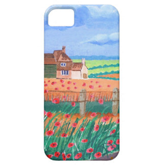 A Poppy Field iPhone 5 Cover
