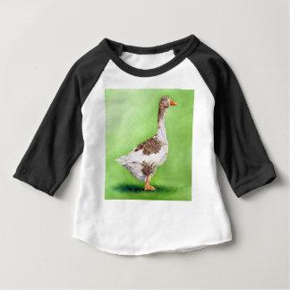 A Portrait of a Goose Baby T-Shirt