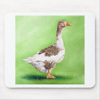 A Portrait of a Goose Mouse Pad