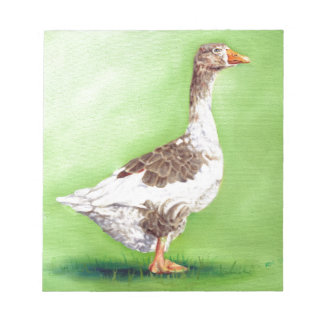 A Portrait of a Goose Notepad