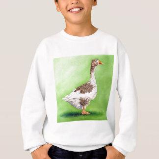 A Portrait of a Goose Sweatshirt