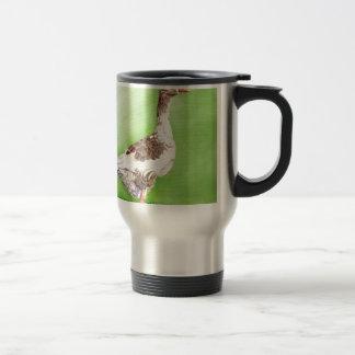 A Portrait of a Goose Travel Mug