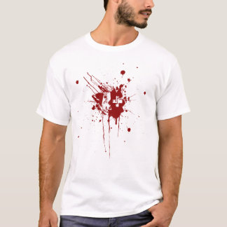 A positive Blood Type for Vampires & Zombies T-Shirt