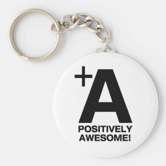 +A Positively Awesome! Collection Key Ring