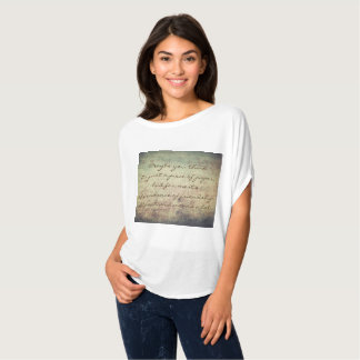"""A postcard means a lot"" Women's Top/T-Shirts T-Shirt"