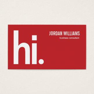 A Powerful Hi - Modern Business Card - Groupon