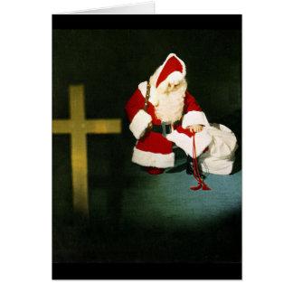 A Prayer for Christmas Greeting Card