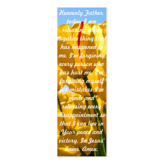 A Prayer for Peace Pack Of Skinny Business Cards